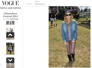 vogue uk sienna miller gibbon/eel katsuit festival fashion glastonbury ekat